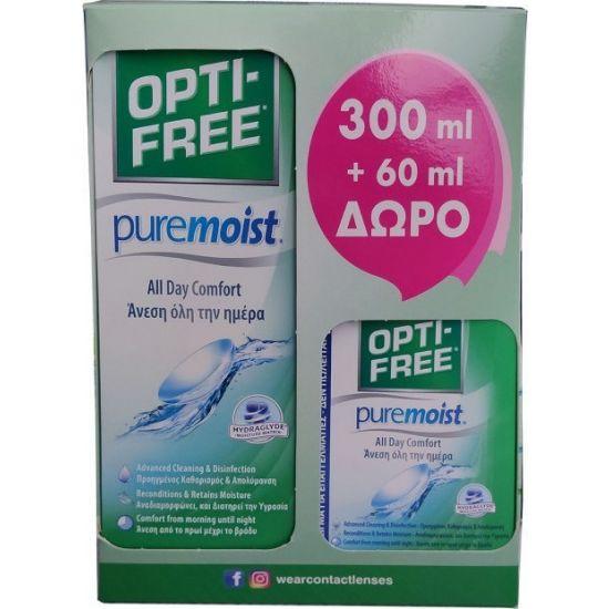 OPTIFREE PURE MOIST 300ML+60ML